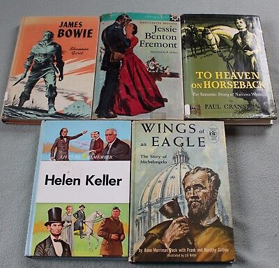 Homeschool 5 Living Books Messner, North Star, Lives to Remember Plus 2