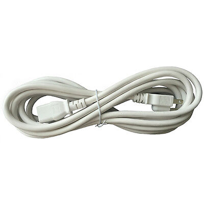 BYBON 6ft 14 AWG SJT Universal Power Cord for computer printer White UL