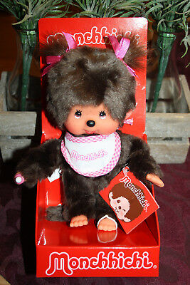Monchichi / Monchhichi Twin Tail Girl Neu OVP