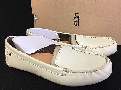 9c53903565e UGG Australia Milana Water Resistant Leather Loafer Canvas 1016767 Women s  Flats