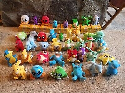 Lot of 39 Neopets 2004-2005 Plush and Figures