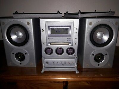 sony mini disk CMT-M100MDHi-Fi Stereo cassette optical in pc link cd faulty