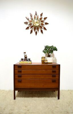70s rare Stylish vintage Mid Century 2 in 1 Meredew chest of drawers bureau/desk
