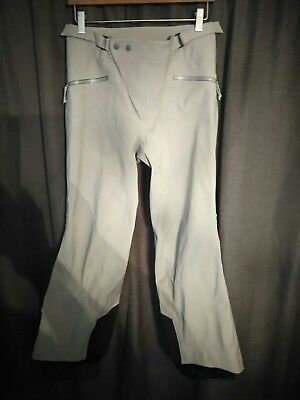 Arc'teryx Women's Beige Gore Tex Ski Pants Size Medium