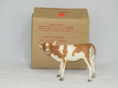 Vintage Breyer #348 Guernsey Calf with MAILER BOX