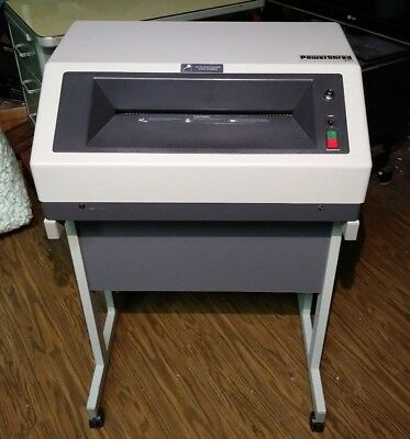 Fellowes Power Shred 910 H Business COMMERCIAL  Paper Shredder Made in Germany