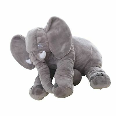 Big Soft Baby Elephant Plush Pillow  Stuffed Elephant Pillow Cushion Doll Toy...