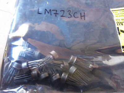 1x NSC LM723CH 150 mA Adjustable Output Linear Regulator / LDO 10-TO-100