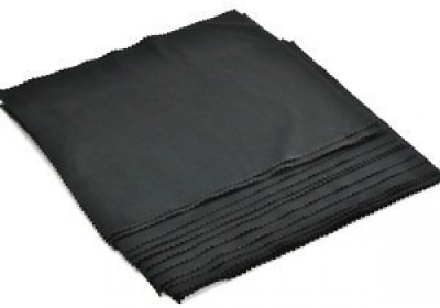 "5 PCS (14""x24"") EXTRA LARGE Black Super-soft Microfiber Lens/Cleaning Cloth"