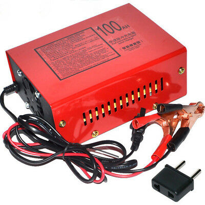 12V/24V 10A 140W Car Motorcycle Lead Acid Battery Charger Full Automatically New