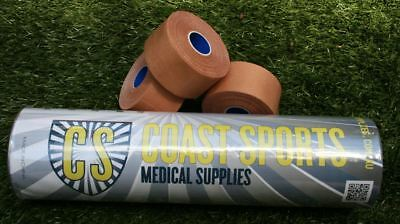 Professional Rigid Sports Strapping Tape - 8 Rolls X 38mm X 13.7m