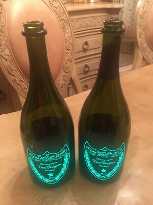 Dom Perignon Champagne Luminous Two Bottles