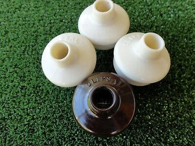 Bakelite plugs with Round Earth Pins