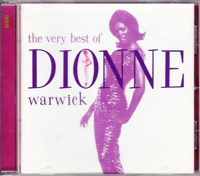 The Very Best Of Dionne Warwick 16 Track Cd - Excellent - Vgc
