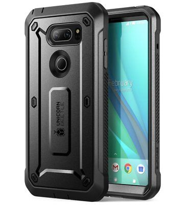 LG V30 Case, SUPCASE Full-body Rugged Holster Case W. Built-in Screen Protector