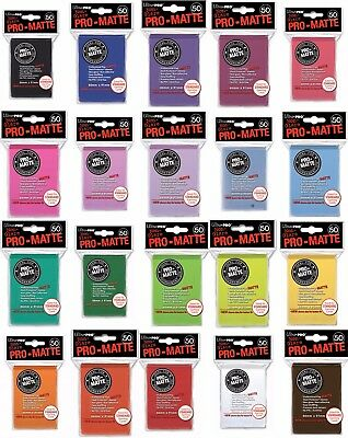Ultra Pro - Standard Size Matte Sleeves - Pack of 50