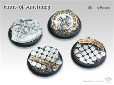 Ruins of sanctuary Base | 40mm RL (2) - *Tabletop Art*