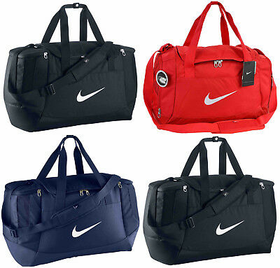 Nike Club Swoosh Team Bag Duffel Sports Holdall Duffle Gym Training Travel Kit