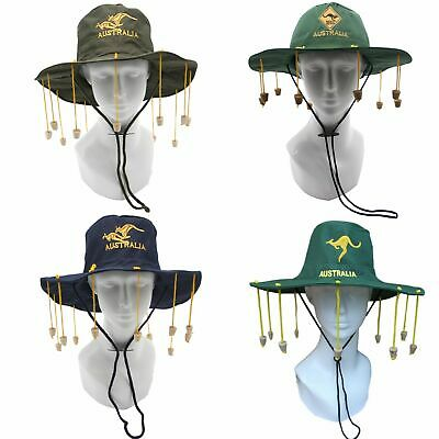 New Aussie OZ Cork Hat Australian Souvenir Adult Crocodile Dundee Costume