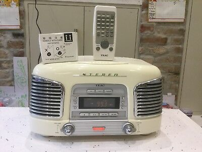 Teac Retro Music System SL-D90 (cd Not Working ) Very Loud quality sound