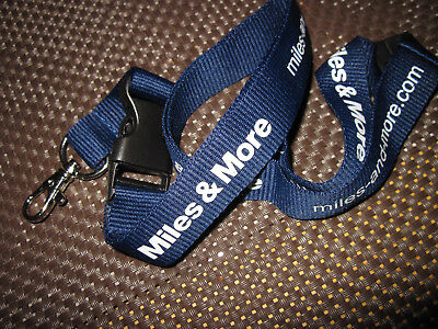 Schlüsselband Lanyard Miles & More Lufthansa Airline Airlines