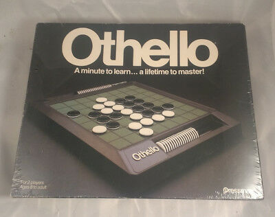 Vintage 1990 Pressman Othello Game - New Factory Sealed - Corners have wear