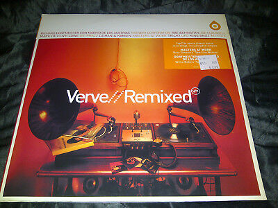 VERVE // REMIXED - 3-LP Sampler 2002 - Verve 589 606-1 - Electronic Jazz
