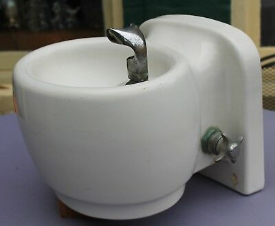 antique porcelain KOHLER school drinking fountain,wall mount,stop valve,~DECO~
