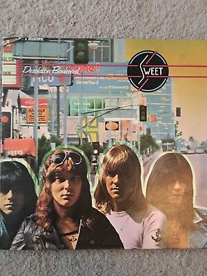 The Sweet rare '74 UK 1st press LP Desolation Boulevard Near Mint, (LPL15080)
