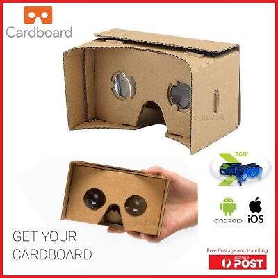 Google Cardboard 3D Glasses VR Box Virtual Reality Video Film For Android iPhone
