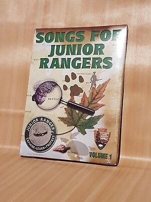 WOW Very Rare Songs For Junior Rangers CD pack Vol 1. Rare National Park Service