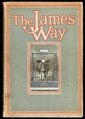 "1915 - ""The James Way"" - Dairy Farm Equipment Catalog - Illus - Great Reference"
