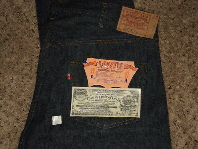 VINTAGE LEVIS 501 Buttonfly Jeans 1984 Deadstock 44W 36L With Tags Never Worn