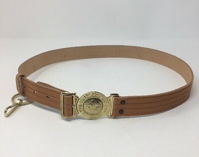 Boy Scout Belt Be Prepared New NOS Leather BSA Scouts 17-2475