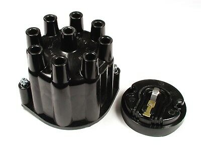 ACCEL 8124ACC Distributor Cap And Rotor Kit Heavy Duty Black