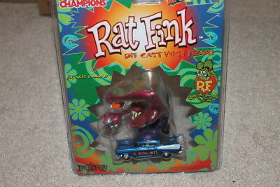 Racing Champions Rat Fink 57 Chevy Die Cast