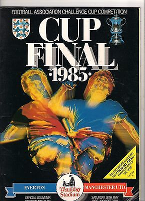 1985  FA Cup Final---------Everton v Manchester United