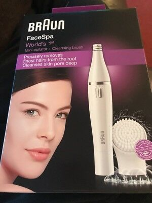 Braun FaceSpa model 810. Epilation & cleansing. Brand new and boxed