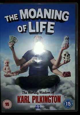 The Moaning Of Life - Series 1 DVD / 2-Disc / Karl Pilkington / Ricky Gervais