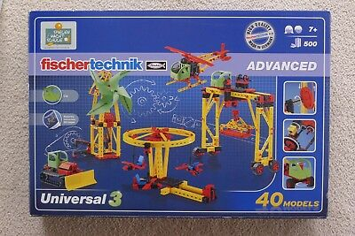 ☛☛ Fischer Technik Advanced Universal 3