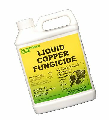 Southern Ag Liquid Copper Fungicide 32oz - 1 Quart 32 Oz