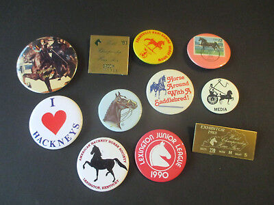 Vintage World Championship Horse Show / Saddlebred / Ky / Button Pin Lot # 2