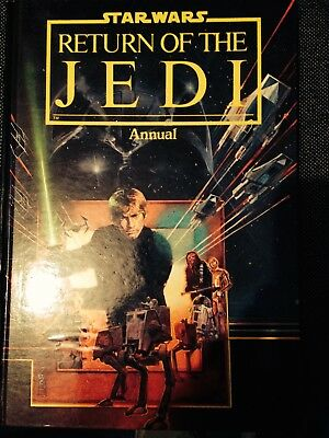 Star Wars return of the jedi annual comic 1983 vintage good condition