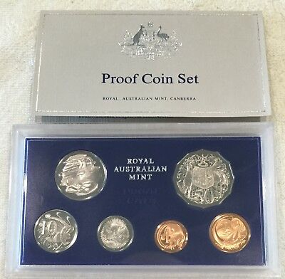 Australian 1975 Proof Coin Set Queen Elizabeth II