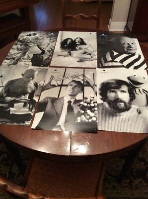 "Apple Promo Poster Set 2000 Or 2001 17"" X 11"" Genius Think Different"
