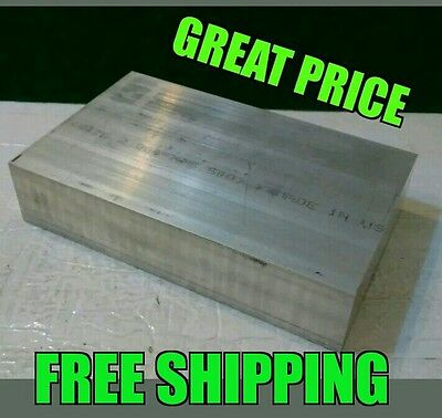 1X3X3 new 6061 solid aluminum stock plate flat bar cnc milling die shop tool