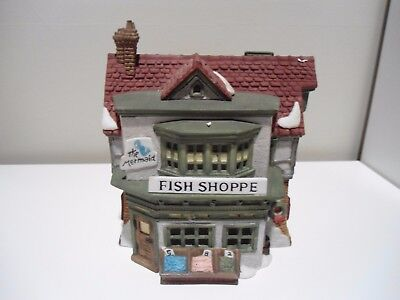 Dept 56 -  The Mermaid Fish Shoppe dickens village Series #59269