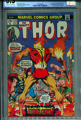 Thor #225 (Jul 1974, Marvel Comics) CGC 6.5 OW/W 1st appearance of Firelord!