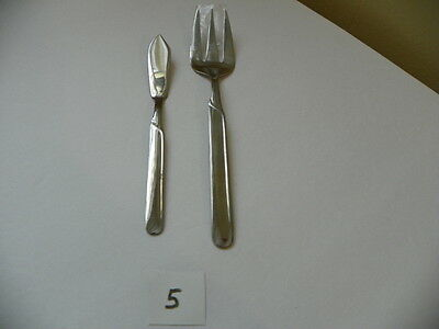 Cambridge Paige Serving Fork And Master Butter Knife Stainless  Flatware