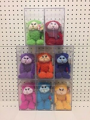 ~Beanie Kids / Complete Rainbow Bear Set / Mutation (Gold Nose) / Very Rare~